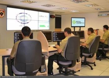 O Centro de Defesa Cibernética do Exército foi responsável pela defesa cibernética durante a Copa do Mundo e as Olimpíadas-Foto EB