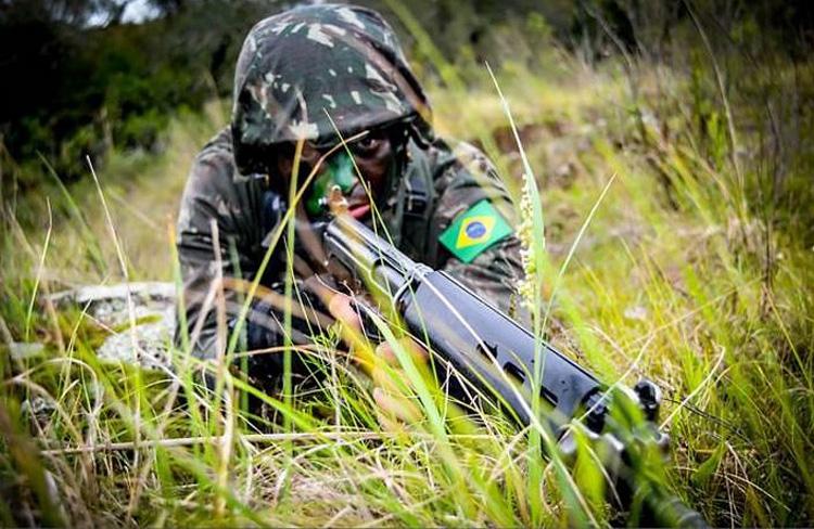 A Operação Culminating encerrará em 2020 com um exercício combinado no JRTC, um dos principales centros de treinamento do Exército dos EUA. (Foto: Soldado Bruno dos Santos Ouriques/3º RC Mec).