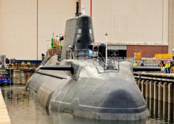 HMS Audacious - FOTO BAE