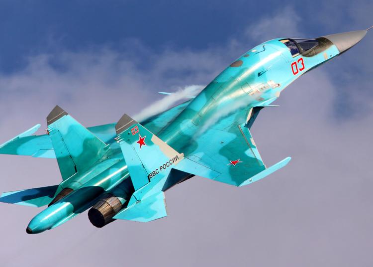 Sukhoi Su-34 Foto Artyom Anikeev