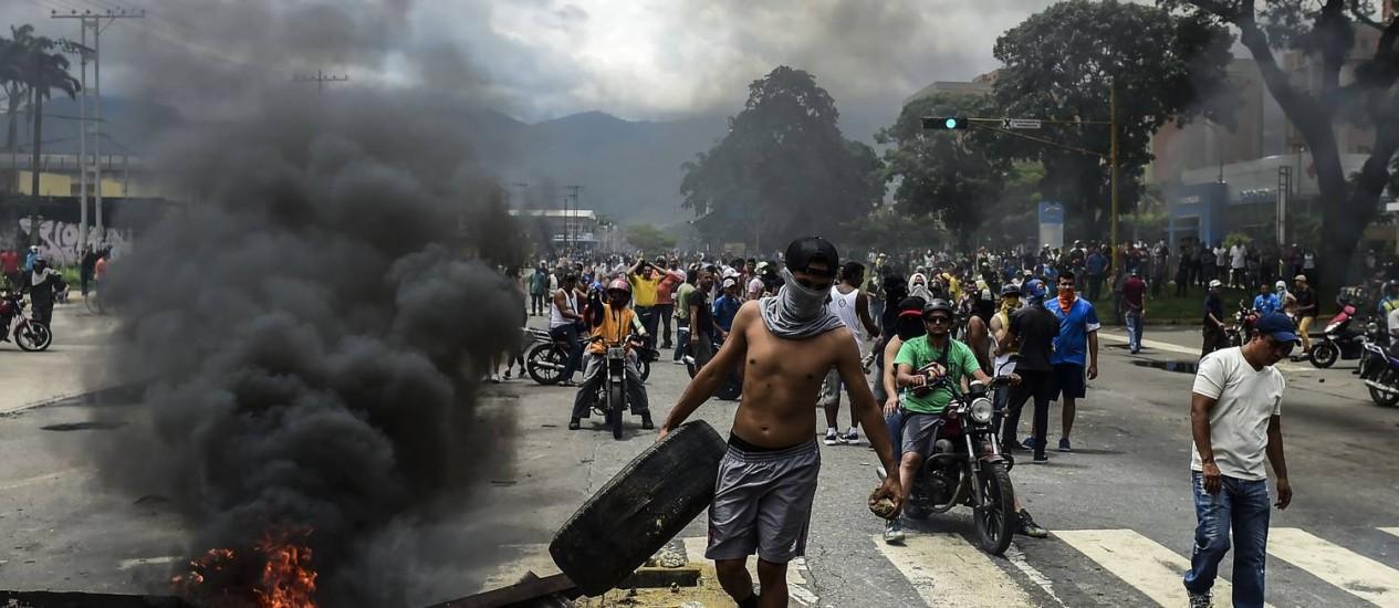 Crise na Venezuela - Foto: Ronaldo Shemidt/AFP