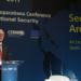 Rio de Janeiro - O presidente do Parlamento Federal Alemão (Bundestag), Norbert Lammert, durante a abertura da XIV Conferência de Segurança Internacional do Forte de Copacabana (Tomaz Silva/Agência Brasil)