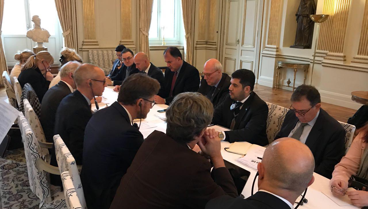 Em Estocolmo, secretário-executivo Marcos Jorge de Lima co-presidiu segunda reunião da Comissão Mista Brasil-Suécia de Cooperação e participou da abertura do 6º Workshop Brasil-Suécia em Aeronáutica