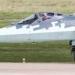 As bolhas superiores e inferiores de 101KS-O DIRCM podem ser vistas nesta imagem. Nem todos os T-50s / Su-57s foram equipados com este sistema ainda, mas é uma característica fundamental do design.