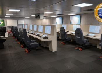 Sistema 9LV CMS no COC da corveta 10514 da DAMEN