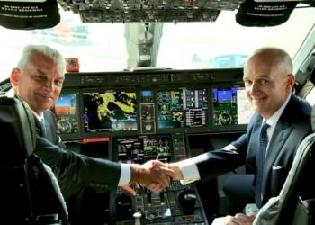 CEO's Embraer e Boeing no KC390