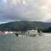 Militares em Aviso-Patrulha da Marinha foram mobilizados para escoltar navio invadido em Santos, SP (Foto: José Claudio Pimentel/G1)