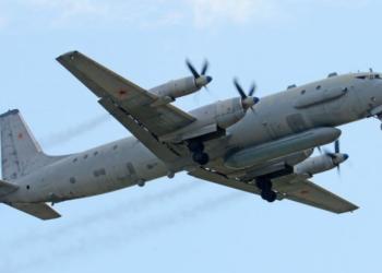 """O equipamento do IL-20 pode """"cegar"""" aviões que fazem parte de AWACS (Sistema Aéreo de Alerta e Controle).  Alan Wilson"""