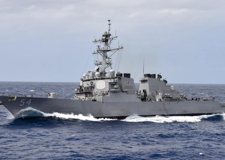 USS Curtis Wilbur (DDG 54) Foto Benjamin Dobbs