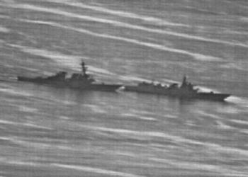 Incidente entre destroyers americano e chinês - Foto US Navy