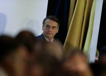 Presidente Jair Bolsonaro no Clube Naval em Brasília- Foto Pedro Ladeira