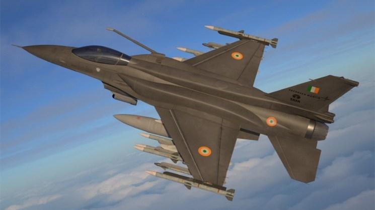 Uma concepção artística do novo F-21 (Crédito de imagem: Lockheed Martin).