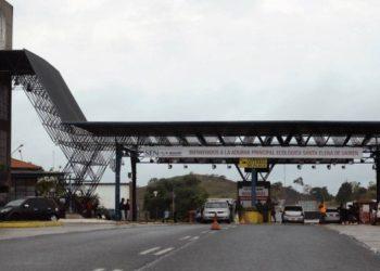 Fronteira entre Brasil e Venezuela, em Roraima Foto: Jorge William / Agência O Globo