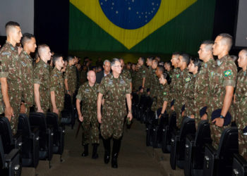 Comandante do Exército brasileiro, General Pujol na AMAN