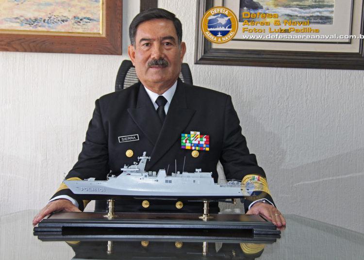 Almirante José Antonio Sierra Rodriguez Diretor da Direccion General de Construcciones Navales
