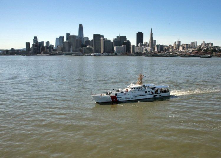 USCGC Robert Ward, chegando em San Francisco, em 22 de fevereiro de 2019. Foto: Guarda Costeira dos EUA