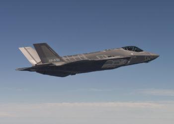 Primeiro voo do F-35A da JASDF em 24/08/16.