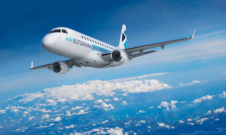 Embraer E170 da Air Botswana