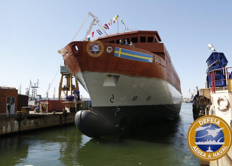 HMS Artemis - Novo navio SIGINT da Marinha da Suécia