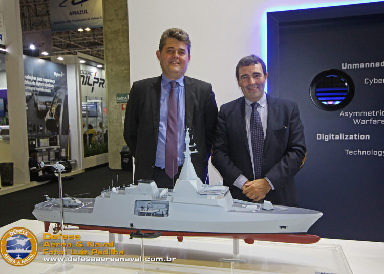 Da esquerda para a direita: Sr Olivier Michel e Sr. Eric Berthelot