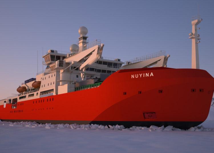 Antarctic Supply Research Vessel (ASRV) Nuyina, da Austrália