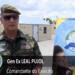 Comandante do Exército Brasileiro, general Pujol