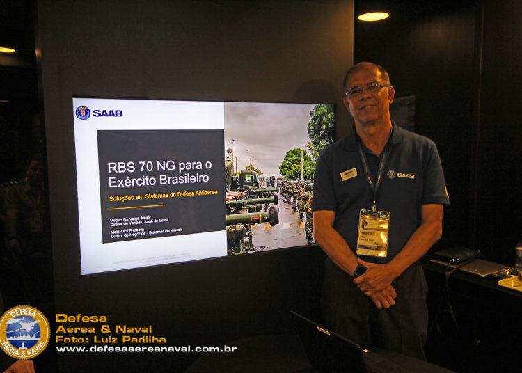 Virgílio da Veiga Junior - diretor de vendas da Saab do Brasil