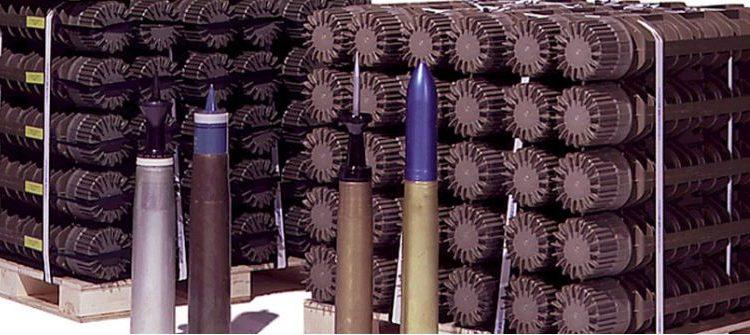 Containers de armazenamento de munições Scepter
