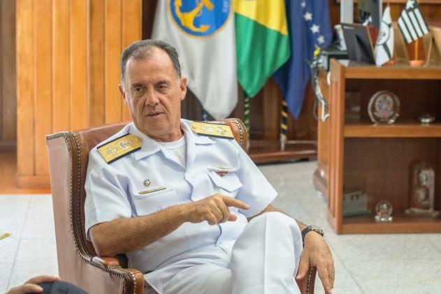 Almirante de Esquadra Ilques Barbosa Junior - FOTO: Tatiana Pimentel