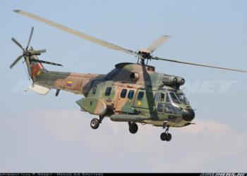 Helicóptero Cougar venezuelano