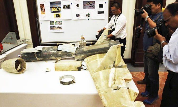 Os drones Houthis têm uma estrutura e capacidade quase idêntica à do Qasef-1 iraniano, diz a ONU Foto Jon Gambrell / AP
