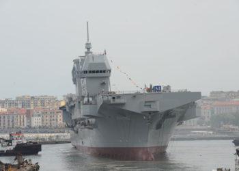 LHD Trieste é lançado ao mar. Foto Luca Peruzzo