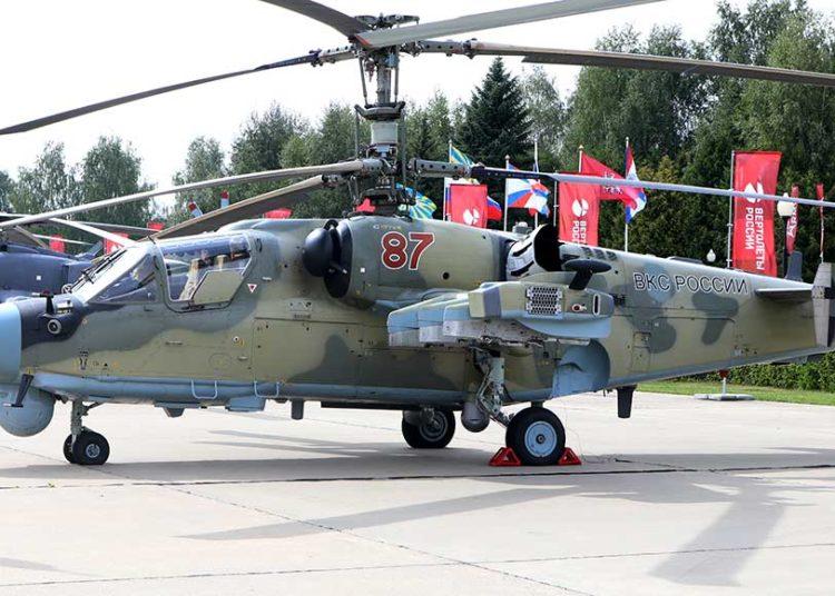 KA-52 em exposição no Army 2019 Foto: Defense-Update