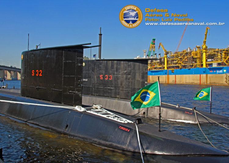 Submarinos classe Tupi da Marinha do Brasil