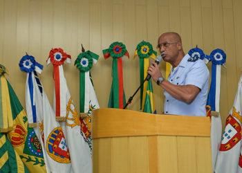 O chefe do Estado-Maior Conjunto das Forças Armadas, Tenente-Brigadeiro do Ar, Raul Botelho fez a abertura do evento
