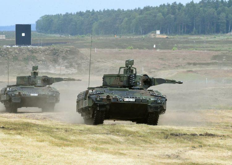 Carro de combate PUMA alemão