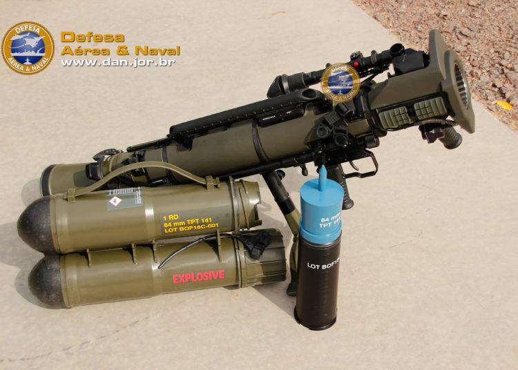 Canhão sem recuo portátil Carl-Gustaf M4 da Saab