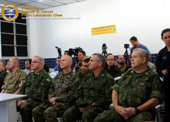 Oficiais generais participantes da UNITAS