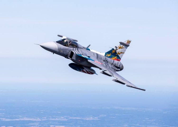 Saab Gripen C da Força Aérea Tcheca