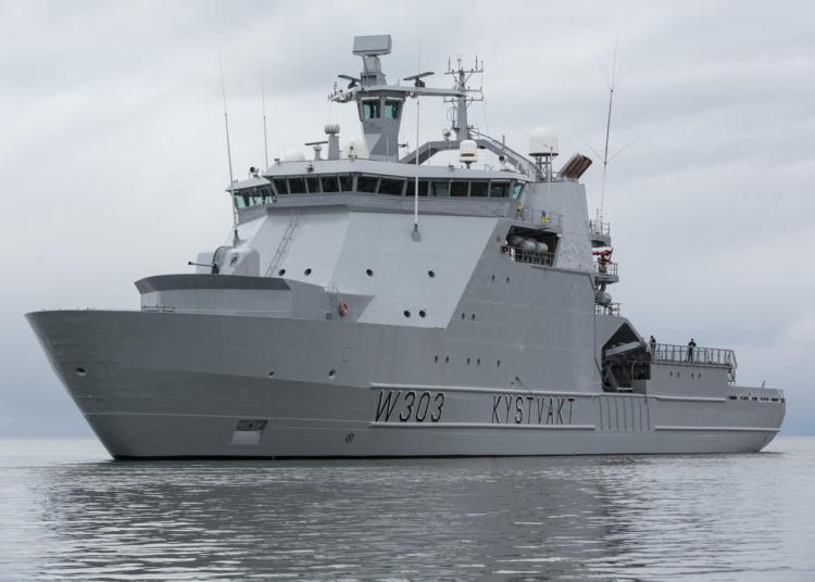 Embarcação de patrulha offshore da guarda costeira (OPV) Svalbard (W 303)