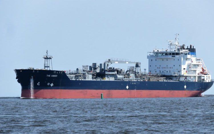 Navio The Amigo pode ser o causador do derramamento de óleo na costa brasileira segundo o Skytruth - Foto: Andrecas