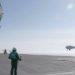 Camcopter S-100 a bordo do Mistral - Foto DGA
