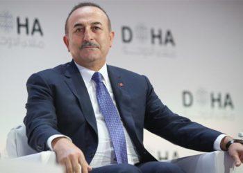 ministro das Relações Exteriores da Turquia, Mevlut Cavusoglu