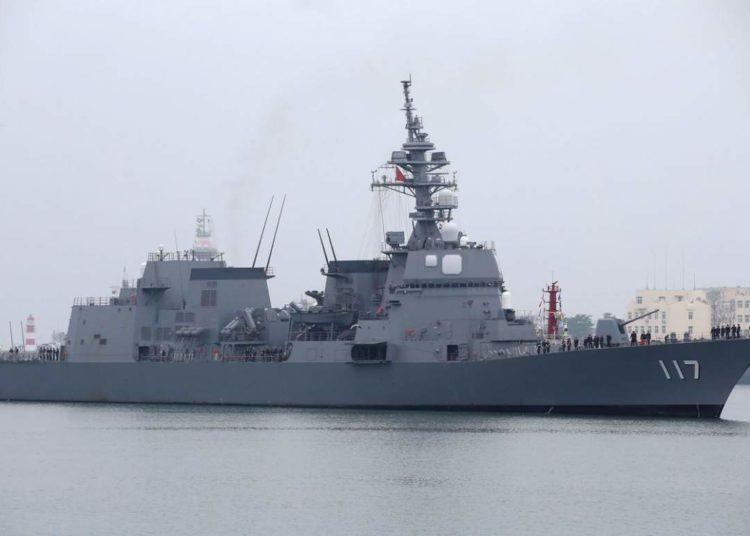 Destroier japonês, JS Suzutsuki (DD 117)