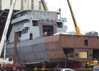 Futuro ARA Piedrabuena, segundo OPV 90 Gowind sendo construído para a Armada Argentina