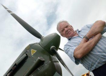 Fernand Carrel,ex-comandante da Força Aérea da Suíça - Foto Sandro Campardo