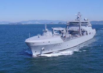 Navio logístico HNoMS Maud (A 530)