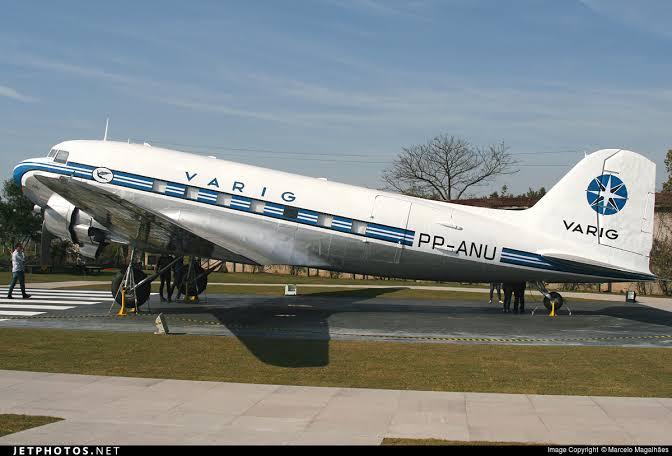 DC-3 preservada em Porto Alegre-RS