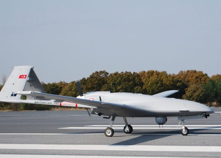Drone turco Bayraktar_TB2