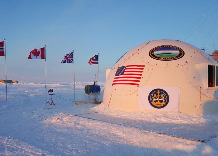 Camp SARGO no Ártico
